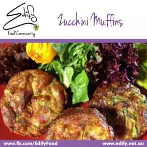 Bacon & Zucchini Muffins (see Recipes) with Salad