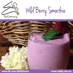 Wild Berry Smoothie (see Recipes)