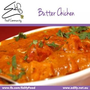 Butter Chicken with Cauliflower Rice (see Recipes)
