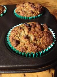 Apple and Banana Muffins